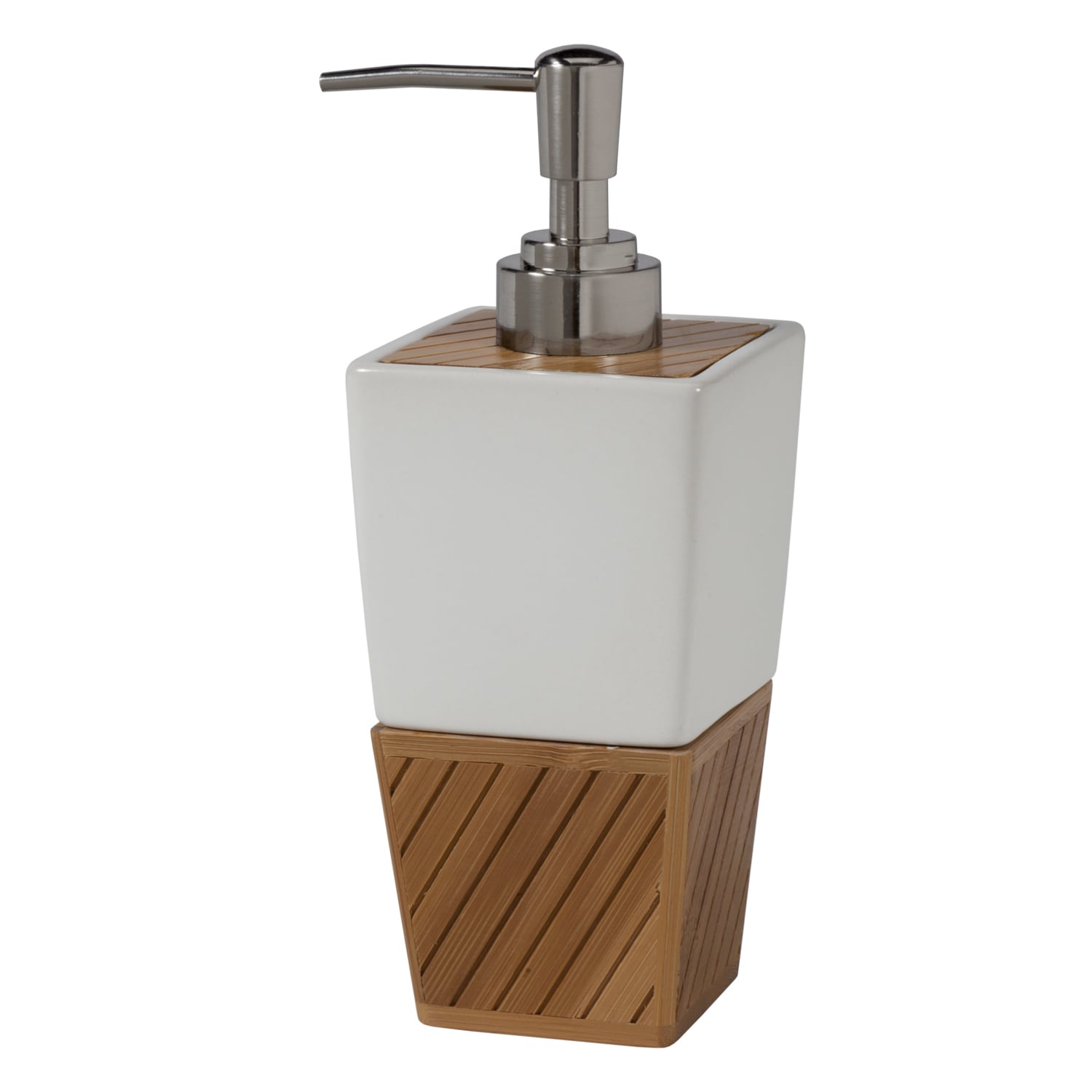 White ceramic bamboo bathroom accessory set ebay for C bhogilal bathroom accessories