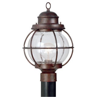 Brookstone 1-light Copper Post Lantern