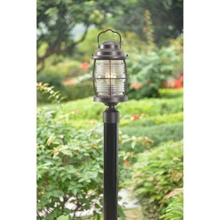 Elton 1-light Bronze Post Lantern