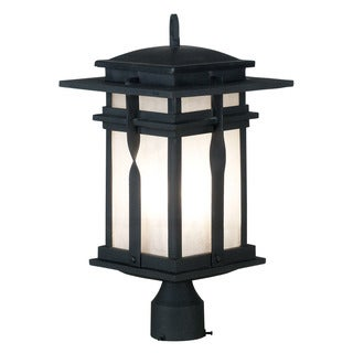 Harriott 1-light Black Post Lantern
