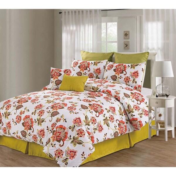 Berkeley Floral 8-piece Comforter Set