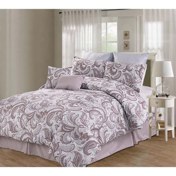 Willowbrook 8-piece Microfiber Comforter Set