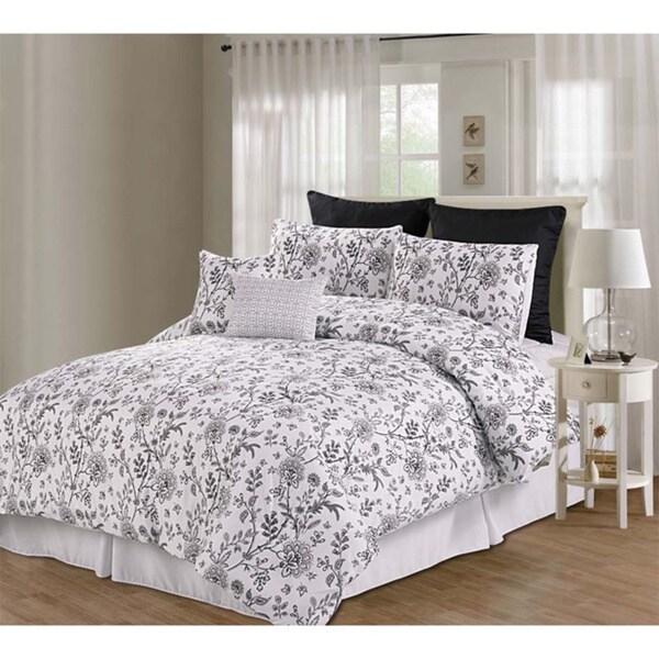 Printed Emerson Floral 8-piece Comforter Set