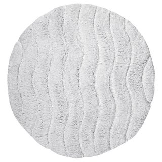 Indulgence Cut and Sculpted Cotton Tufted Bath Rug by Better Trends (More options available)
