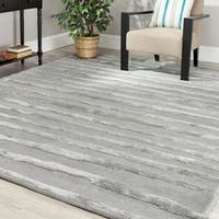 Safavieh Handmade Soho Grey Wool Rug - 8' x 10'