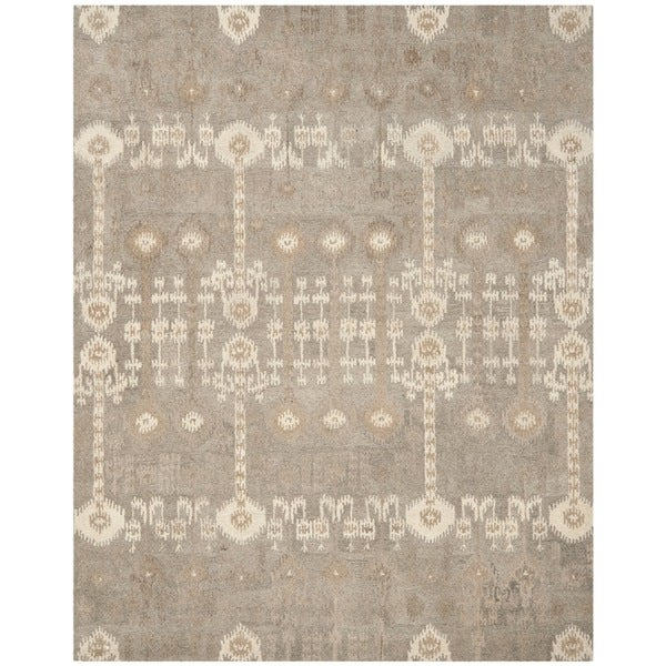 Safavieh Handmade Wyndham Natural/ Multi Wool Rug - 10' x 14'