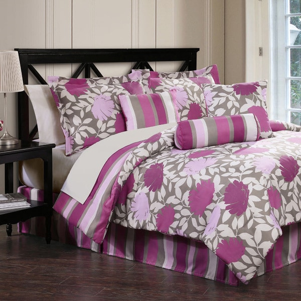 Lolita 7-piece Bed in a Bag with Sheet Set