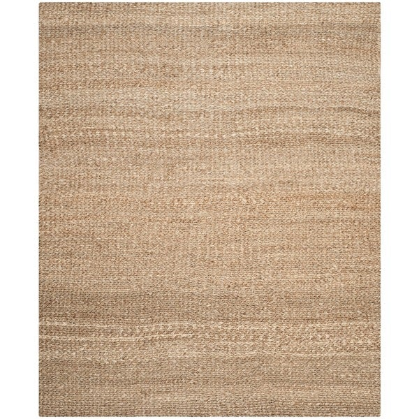 Safavieh Casual Natural Fiber Hand-loomed Natural Jute Rug (10' x 14')