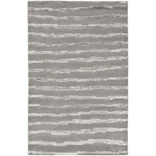 Safavieh Handmade Soho Grey Wool Rug (11' x 15')