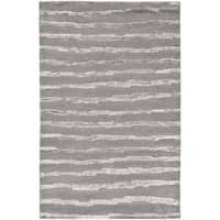 Safavieh Handmade Soho Grey Wool Rug - 11' x 15'