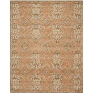Safavieh Handmade Wyndham Terracotta Wool Rug (6' x 9')
