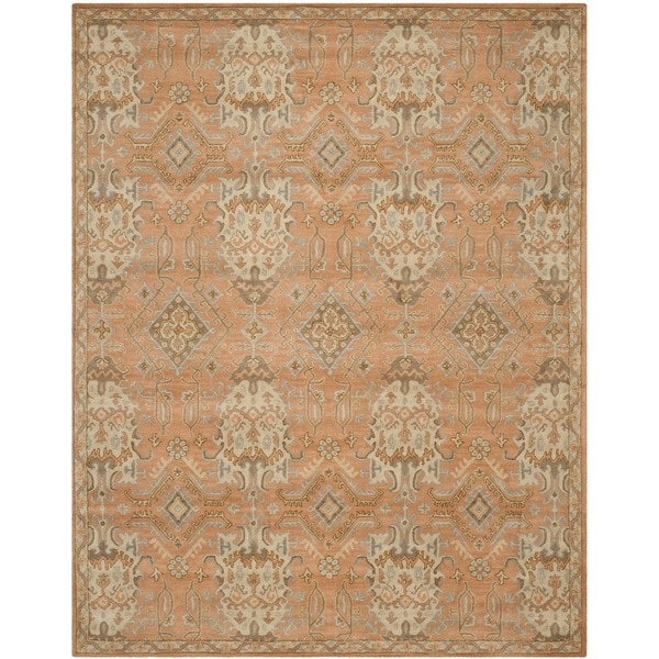 Shop Safavieh Handmade Wyndham Terracotta Wool Rug 6 X