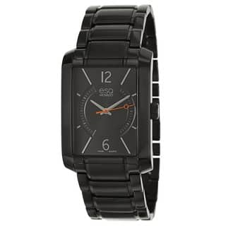 ESQ by Movado Men's 07301411 'Synthesis' Black Stainless Steel Swiss Quartz Watch|https://ak1.ostkcdn.com/images/products/8883673/ESQ-by-Movado-Mens-Synthesis-Black-Stainless-Steel-Swiss-Quartz-Watch-P16106819.jpg?impolicy=medium
