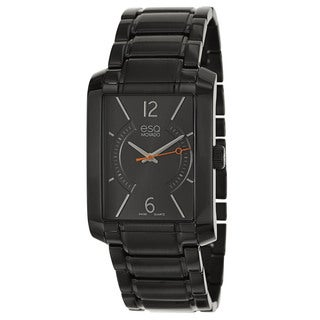 ESQ by Movado Men's 07301411 'Synthesis' Black Stainless Steel Swiss Quartz Watch