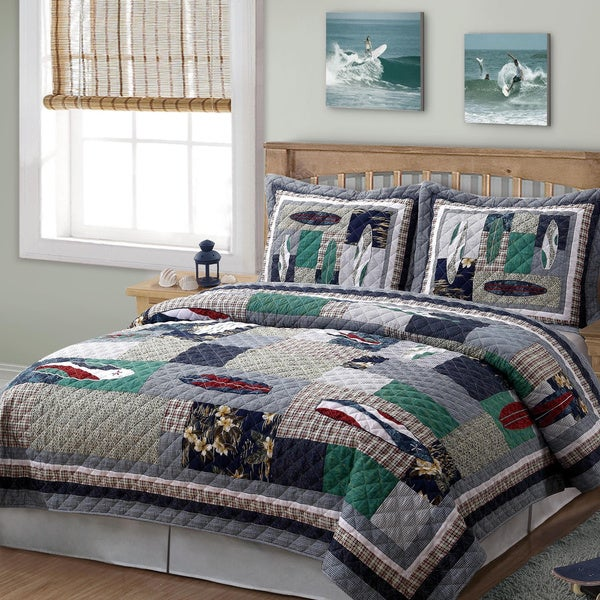Surfing USA 3-piece Quilt Set
