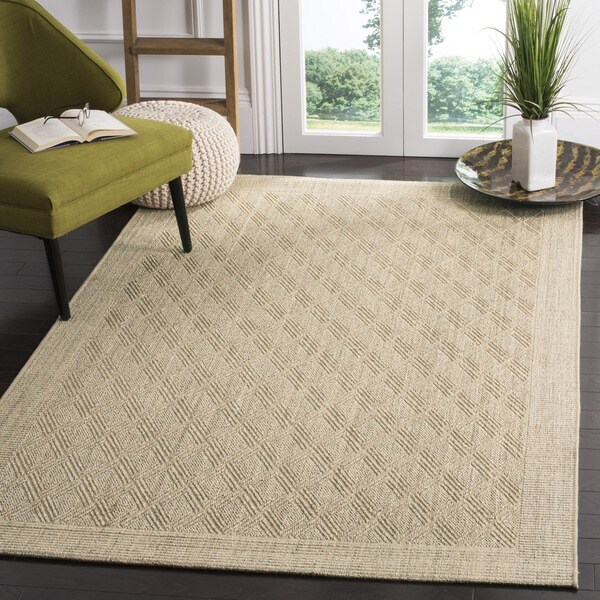 Safavieh palm beach sand sisal rug 9 39 x 12 39 free shipping today 16106978 Home goods palm beach gardens