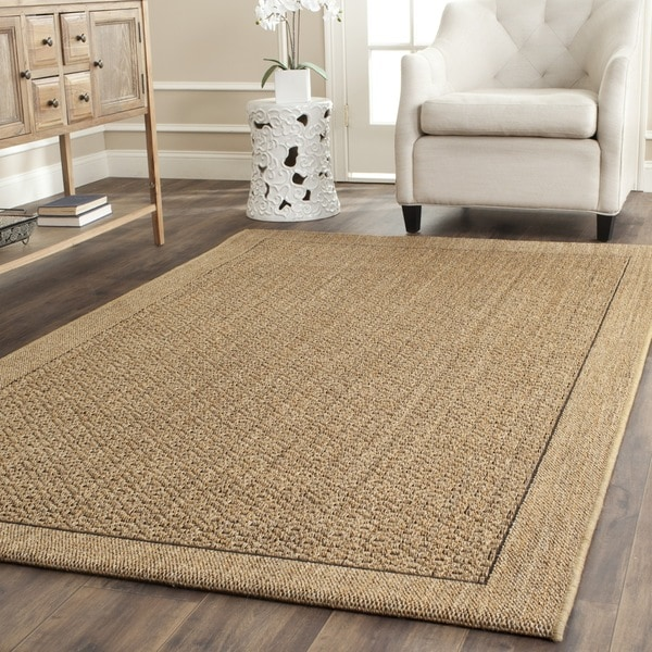 Safavieh Palm Beach Natural Sisal Rug 6 X 9 Free