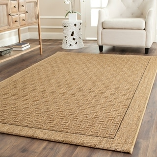 Safavieh Palm Beach Natural Sisal Rug (6' x 9')