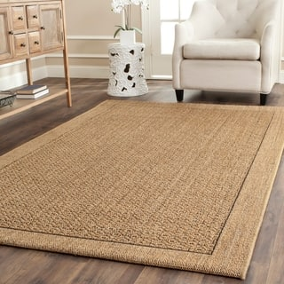 Safavieh Palm Beach Natural Sisal Rug (9' x 12')|https://ak1.ostkcdn.com/images/products/8883754/P16106983.jpg?impolicy=medium