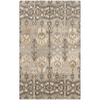 Safavieh Handmade Wyndham Natural/ Multi Wool Rug (3' x 5')