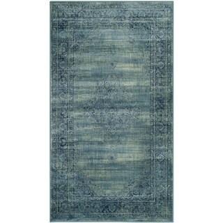 Safavieh Vintage Turquoise Viscose Rug (2' x 3')