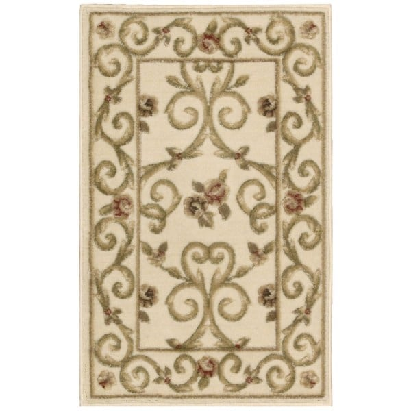 Nourison Somerset Ivory Scroll Area Rug (7'9 x 10'10)