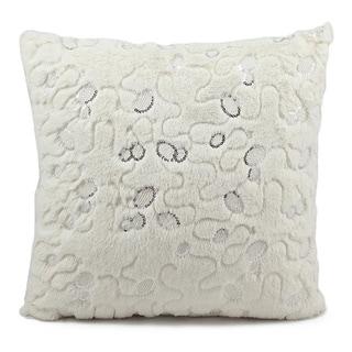 Nourison Mina Victory Faux Fur Throw Pillow