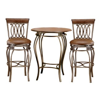 Montello 3-piece Old Steel Bistro Set