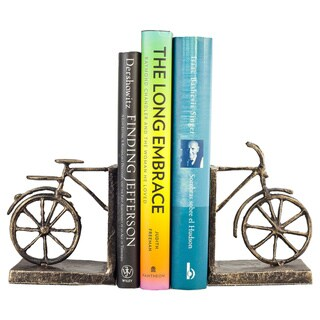 Bicycle Iron Bookend Set