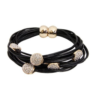 Saachi Magnetic String Bracelet with Circle Charms (China)