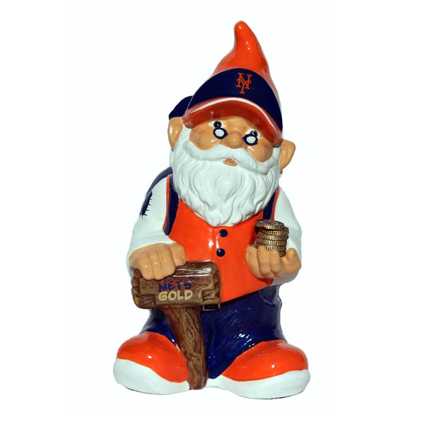 Forever Collectibles MLB New York Mets 11-inch Gnome Bank