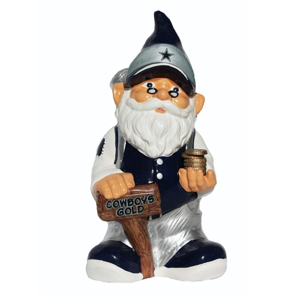 Forever Collectibles NFL Dallas Cowboys 11-inch Gnome Bank