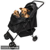 Oxgord Pet Comfort Travel Portable Rolling Stroller