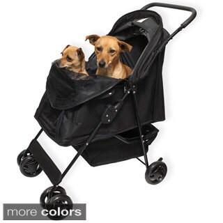 Oxgord Pet Comfort Travel Portable Rolling Stroller