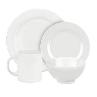 Waechtersbach Fun Factory White 16-piece Dinnerware Set