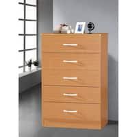 5-drawer Wooden Chest