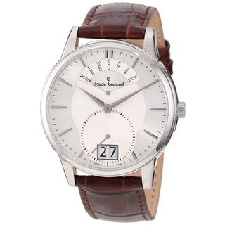 Claude Bernard Women's Classic Brown Strap Watch
