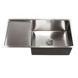 Beautiful Stainless Steel 15mm Radius 36 Inch Single Bowl Undermount Sink