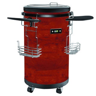70-Bottle Single Zone 1.77 cu. ft. Refrigerated Party Cooler with casters,Cherry