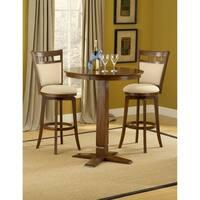 Jefferson Brown Cherry & Ivory 3-piece Pub Set by Hillsdale Furniture