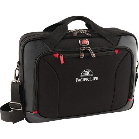 """Wenger Highwire Carrying Case (Briefcase) for 17"""" Notebook - Black"""