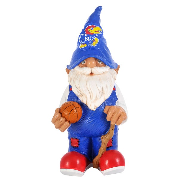 Forever Collectibles NCAA Kansas Jayhawks 11-inch Garden Gnome