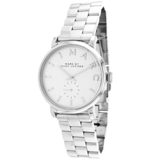 Marc Jacobs Women's MBM3242 Baker Silver Stainless Steel Bracelet Watch