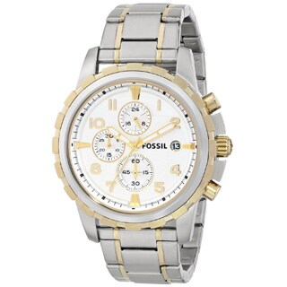 Fossil Men's FS4795 Dean Two-Tone Chronograph Stainless Steel Watch