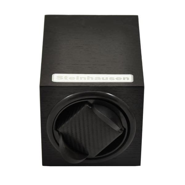 Steinhausen 12-mode Single Black Wood Grain Watch Winder