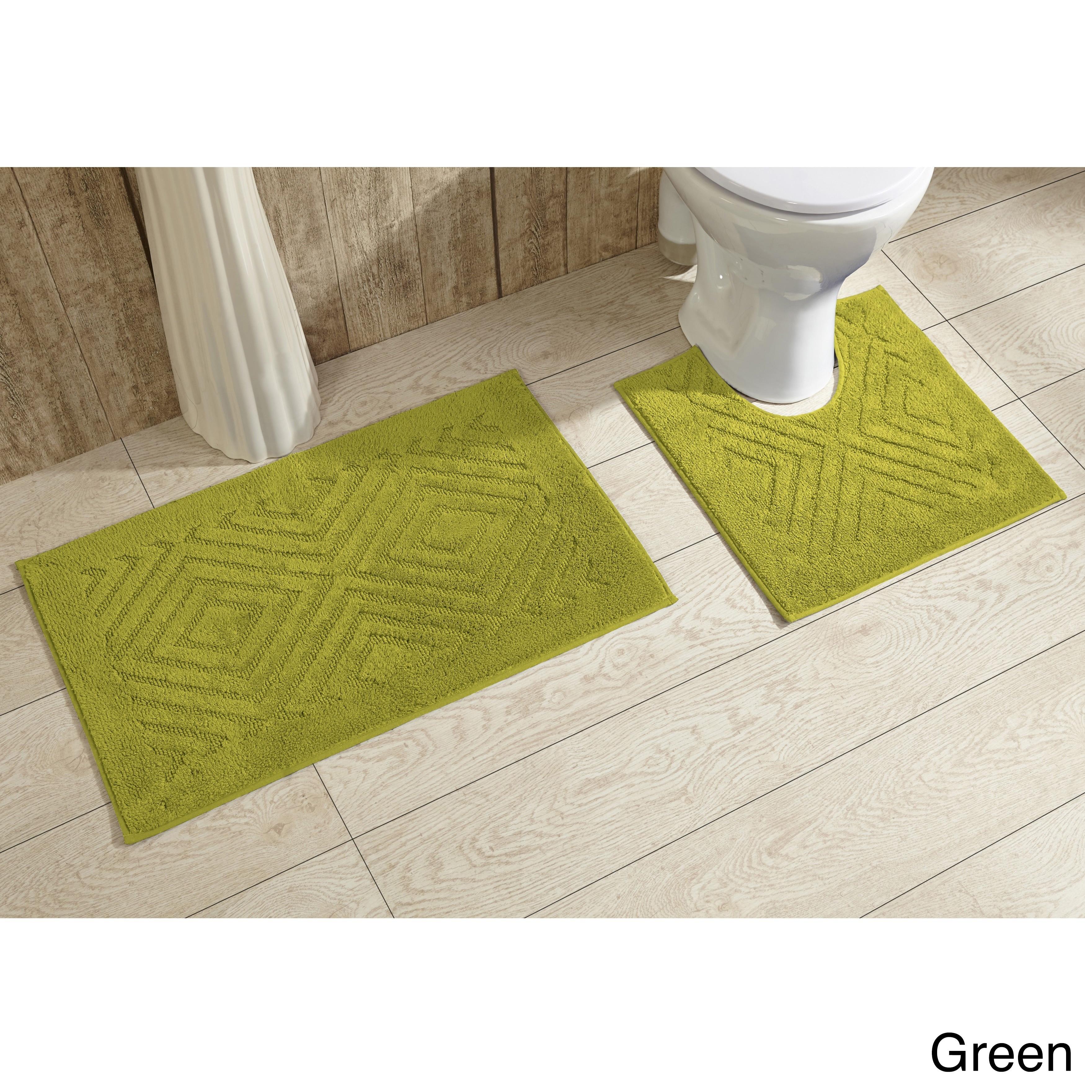 Green Bath Rugs Mats Find Great Towels Deals Ping At Com