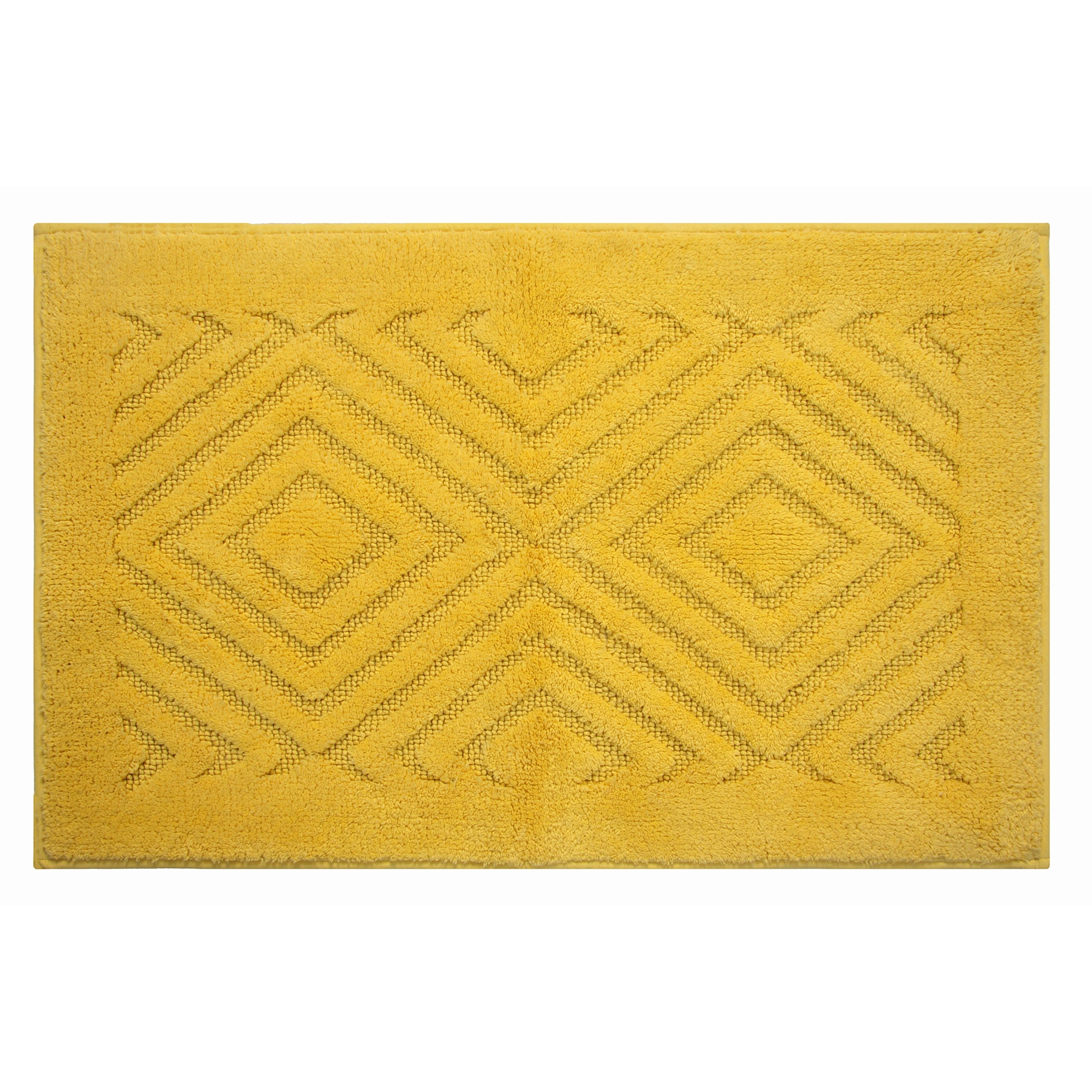 Trier Cotton Non Skid 2 Piece Contour And Bath Rug Set By Better Trends On Sale Overstock 8886963
