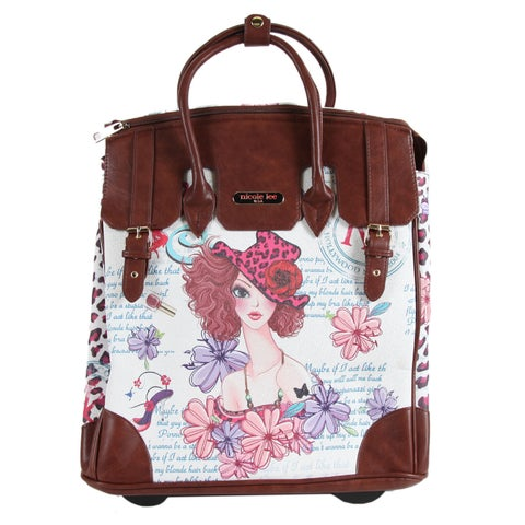 Nicole Lee Rolling Business Tote Special Print Edition Tote