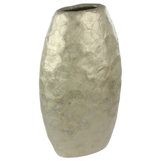 Natural Shell Pearl Tall Vase