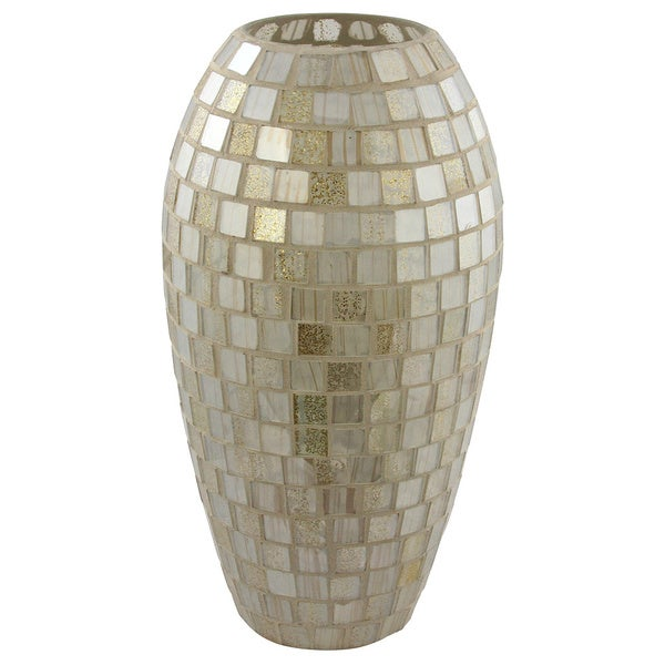 Shop Mosaic Tall Decorative Vase Free Shipping Today Overstock